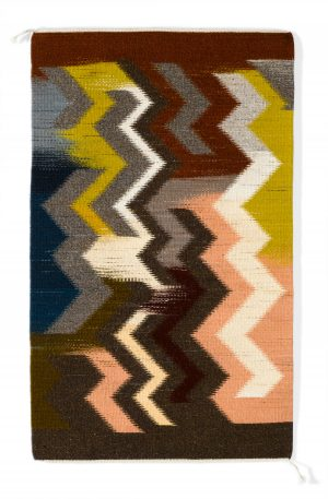 Regina Design Turbulence handwoven wool rug
