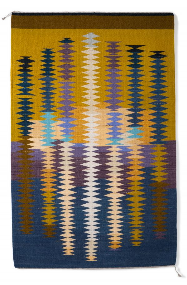 Regina Design Thistle handwoven wool rug