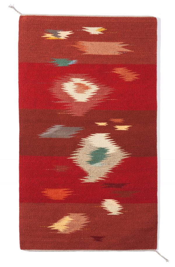 Regina Design Red My Mind handwoven wool rug