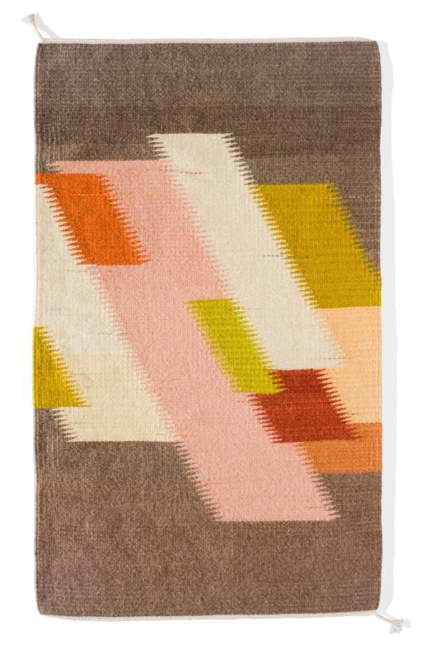 Regina Design Citrus handwoven wool rug