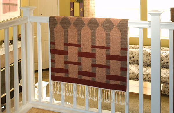 regina design, studio Channel Islands, handwoven rug