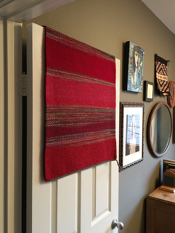 regina design, handwoven rug, studio Channel Islands