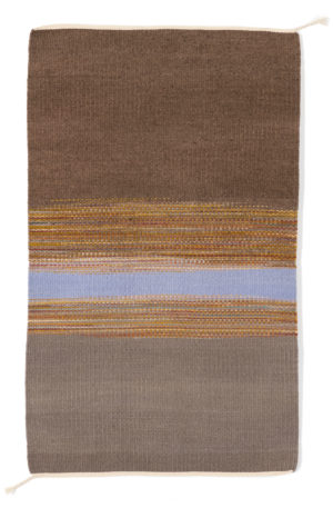 Regina Design Static Gray 1 handwoven wool rug.