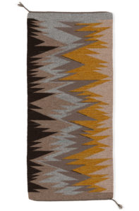 Fiber 2020, Regina Design Life Lines wool table runner 18