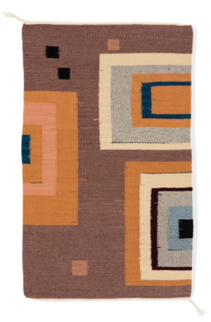 Regina Design So Square wool rug.