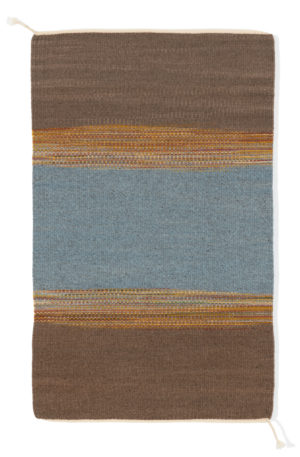 Regina Design Static Gray 2 handwoven wool rug.
