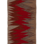 A Time to Gather Regina Design Life Lines 19 wool table runner.