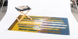 Holiday Art Market. Regina Design handwoven rug