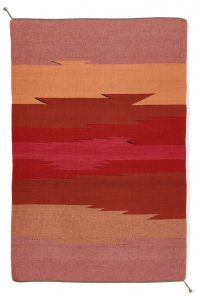 Regina Design Horizons Heart handwoven wool rug Art Therapy in the Time of Covid19